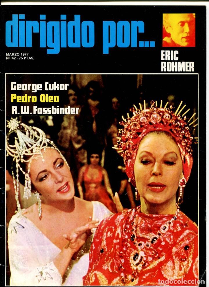 REVISTA DIRIGIDO POR, Nº 42. CON ERIC ROHMER Y GEORGE CUKOR. (Cine - Revistas - Dirigido por)