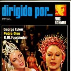Cine: REVISTA DIRIGIDO POR, Nº 42. CON ERIC ROHMER Y GEORGE CUKOR.. Lote 183614212