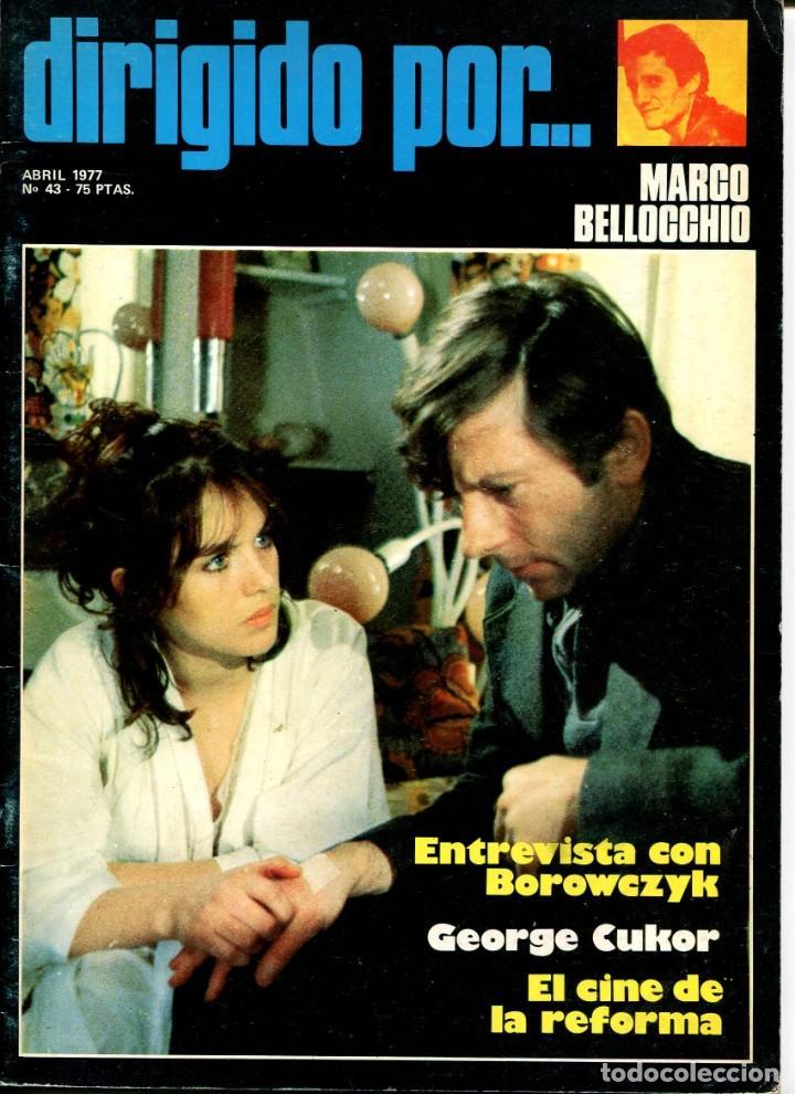 REVISTA DIRIGIDO POR, Nº 43. CON GEORGE CUKOR. (Cine - Revistas - Dirigido por)