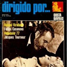 Cine: REVISTA DIRIGIDO POR, Nº 44. CON BUÑUEL Y COSTA GAVRAS.. Lote 183614876