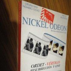 Cine: NICKEL ODEON 8. REVISTA DE CINE. BUEN ESTADO. CON LOMO. ALGO RARA. Lote 183624915