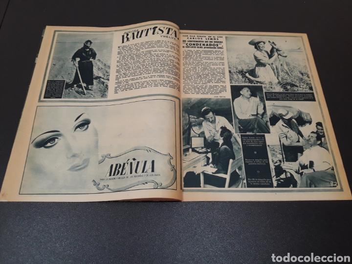 Cine: MAYTE PARDO, MICHELLE MORGAN, GARY COOPER, AVA GARDNER, ANN BLYTH. N° 664. 05/07/1953. - Foto 5 - 183662668