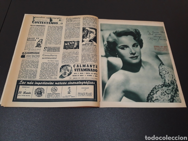 Cine: MAYTE PARDO, MICHELLE MORGAN, GARY COOPER, AVA GARDNER, ANN BLYTH. N° 664. 05/07/1953. - Foto 16 - 183662668