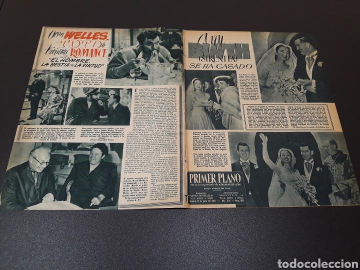 Cine: AURORA BAUTISTA, MARIO CABRE, CLAIRE BOOM, GEORGE RAFT. N° 665. 12/07/1953. - Foto 2 - 183663312