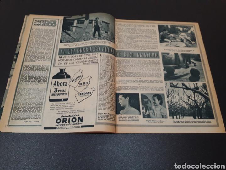 Cine: AURORA BAUTISTA, MARIO CABRE, CLAIRE BOOM, GEORGE RAFT. N° 665. 12/07/1953. - Foto 5 - 183663312