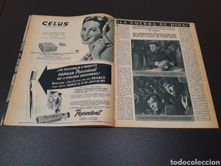 Cine: AURORA BAUTISTA, MARIO CABRE, CLAIRE BOOM, GEORGE RAFT. N° 665. 12/07/1953. - Foto 6 - 183663312
