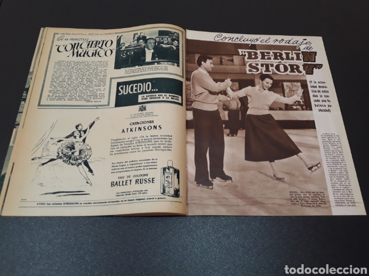 Cine: AURORA BAUTISTA, MARIO CABRE, CLAIRE BOOM, GEORGE RAFT. N° 665. 12/07/1953. - Foto 8 - 183663312