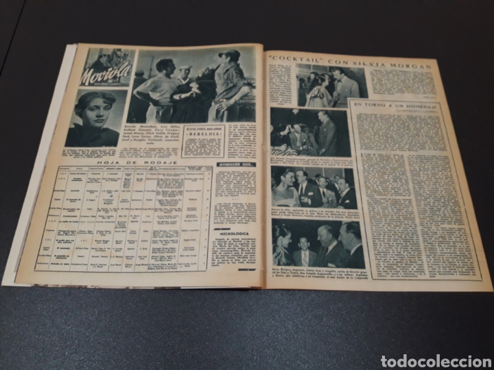 Cine: AURORA BAUTISTA, MARIO CABRE, CLAIRE BOOM, GEORGE RAFT. N° 665. 12/07/1953. - Foto 12 - 183663312