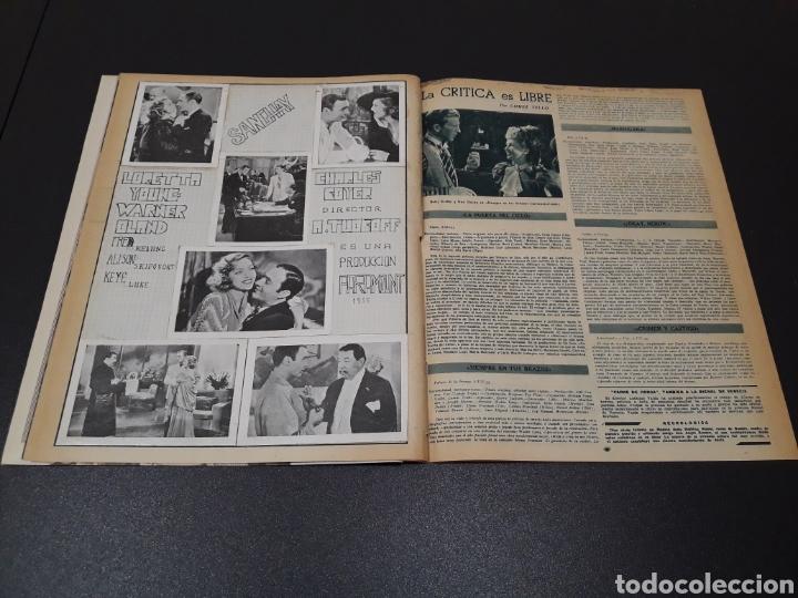Cine: AURORA BAUTISTA, MARIO CABRE, CLAIRE BOOM, GEORGE RAFT. N° 665. 12/07/1953. - Foto 13 - 183663312