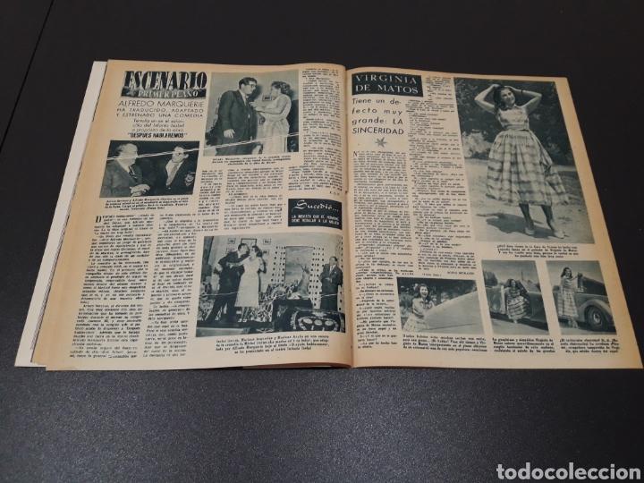 Cine: AURORA BAUTISTA, MARIO CABRE, CLAIRE BOOM, GEORGE RAFT. N° 665. 12/07/1953. - Foto 14 - 183663312