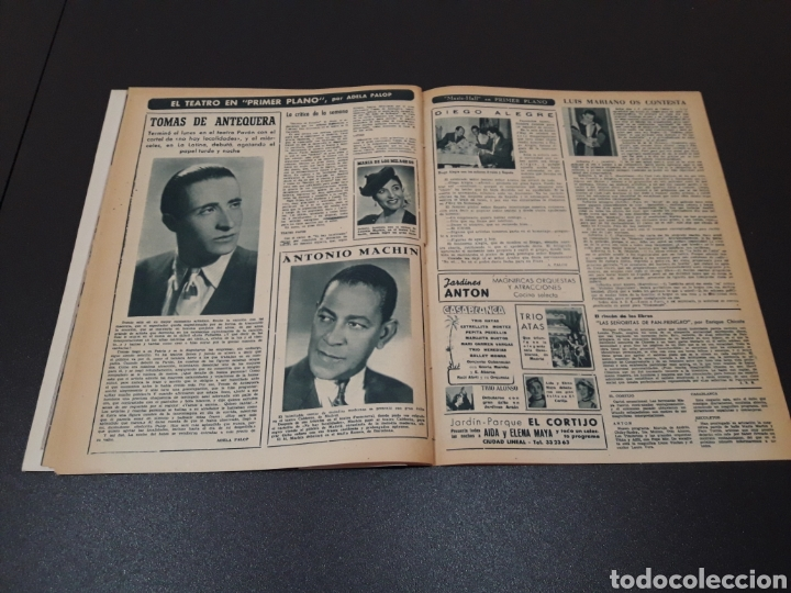 Cine: AURORA BAUTISTA, MARIO CABRE, CLAIRE BOOM, GEORGE RAFT. N° 665. 12/07/1953. - Foto 15 - 183663312