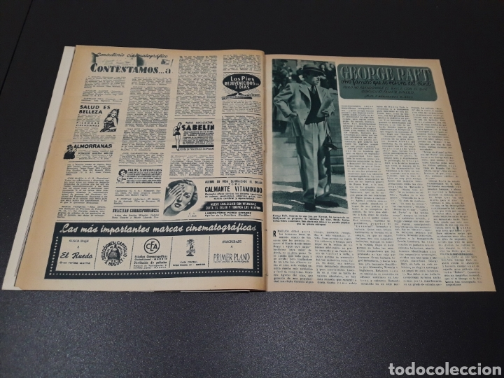 Cine: AURORA BAUTISTA, MARIO CABRE, CLAIRE BOOM, GEORGE RAFT. N° 665. 12/07/1953. - Foto 16 - 183663312