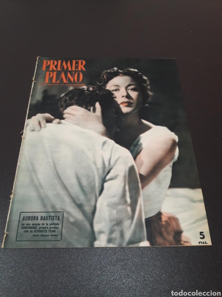AURORA BAUTISTA, MARIO CABRE, CLAIRE BOOM, GEORGE RAFT. N° 665. 12/07/1953. (Cine - Revistas - Primer plano)