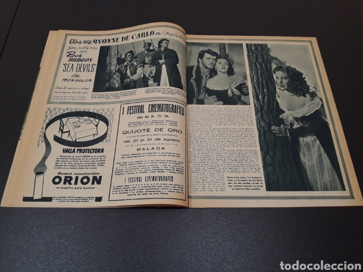 Cine: FINITA RUFETT, LILIANA BONFATTI, YVONNE DE CARLO, BING CROSBY, OTTO SIRGO. 1953. - Foto 4 - 183665108