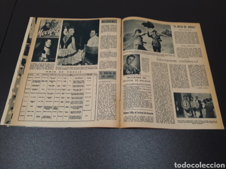 Cine: CARMEN SEVILLA, JOAN COLLINS, ESTHER WILLIAMS, JOSE SUAREZ, JOSE NIETO. N° 671. 23/08/1953. - Foto 14 - 183670647