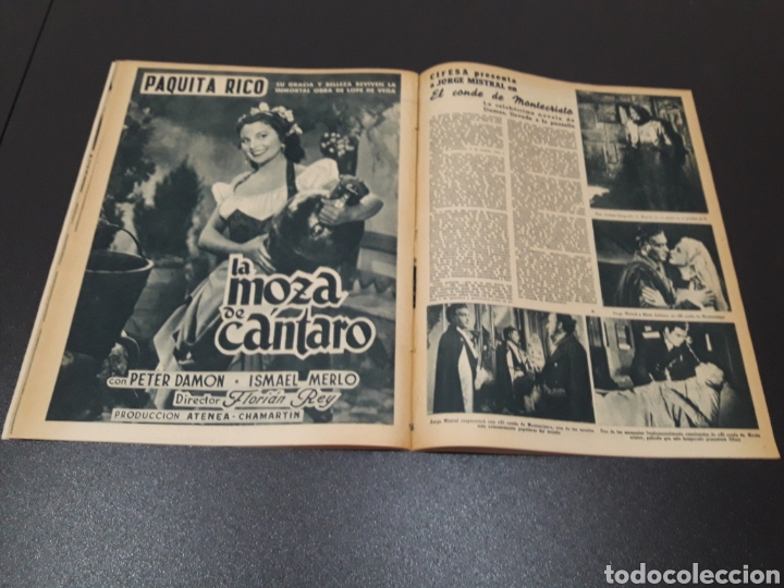 Cine: CARMEN SEVILLA, JOAN COLLINS, ESTHER WILLIAMS, JOSE SUAREZ, JOSE NIETO. N° 671. 23/08/1953. - Foto 17 - 183670647