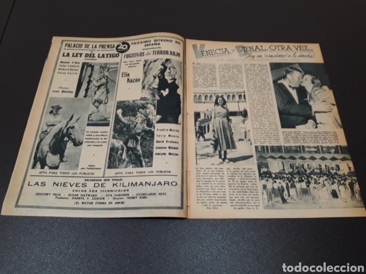 Cine: MARIO CABRE, CLAIRE BLOOM, CLAUDE DAUPHIN, DORIS DURANTI, KIRK DOUGLAS. N° 672. 30/08/1953. - Foto 2 - 183671556