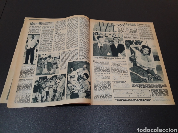 Cine: MARIO CABRE, CLAIRE BLOOM, CLAUDE DAUPHIN, DORIS DURANTI, KIRK DOUGLAS. N° 672. 30/08/1953. - Foto 4 - 183671556