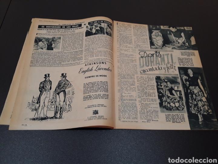 Cine: MARIO CABRE, CLAIRE BLOOM, CLAUDE DAUPHIN, DORIS DURANTI, KIRK DOUGLAS. N° 672. 30/08/1953. - Foto 6 - 183671556