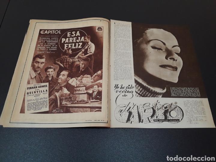 Cine: MARIO CABRE, CLAIRE BLOOM, CLAUDE DAUPHIN, DORIS DURANTI, KIRK DOUGLAS. N° 672. 30/08/1953. - Foto 7 - 183671556