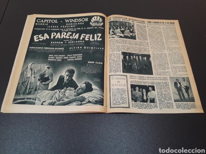 Cine: MARIO CABRE, CLAIRE BLOOM, CLAUDE DAUPHIN, DORIS DURANTI, KIRK DOUGLAS. N° 672. 30/08/1953. - Foto 11 - 183671556
