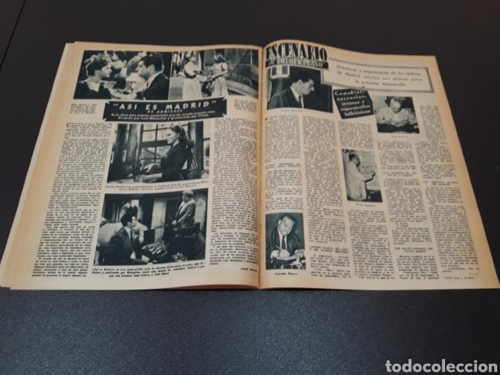 Cine: MARIO CABRE, CLAIRE BLOOM, CLAUDE DAUPHIN, DORIS DURANTI, KIRK DOUGLAS. N° 672. 30/08/1953. - Foto 12 - 183671556