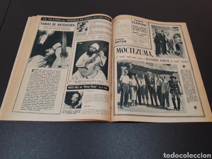 Cine: MARIO CABRE, CLAIRE BLOOM, CLAUDE DAUPHIN, DORIS DURANTI, KIRK DOUGLAS. N° 672. 30/08/1953. - Foto 13 - 183671556