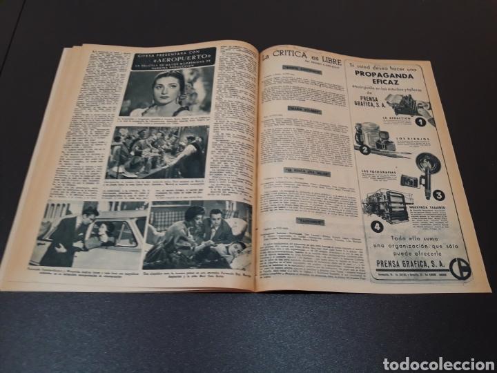 Cine: MARIO CABRE, CLAIRE BLOOM, CLAUDE DAUPHIN, DORIS DURANTI, KIRK DOUGLAS. N° 672. 30/08/1953. - Foto 14 - 183671556