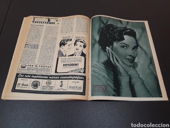 Cine: MARIO CABRE, CLAIRE BLOOM, CLAUDE DAUPHIN, DORIS DURANTI, KIRK DOUGLAS. N° 672. 30/08/1953. - Foto 15 - 183671556