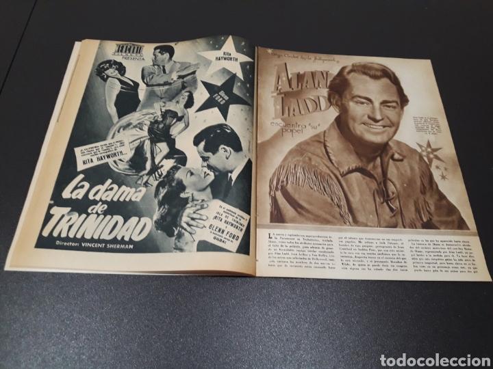 Cine: PALOMA ESTESO, ALAN LADD, AVA GARDNER, RITA HAYWORTH, GLENN FORD. N° 673.06/09/1953. - Foto 8 - 183673051