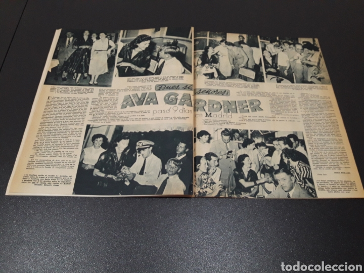 Cine: PALOMA ESTESO, ALAN LADD, AVA GARDNER, RITA HAYWORTH, GLENN FORD. N° 673.06/09/1953. - Foto 11 - 183673051
