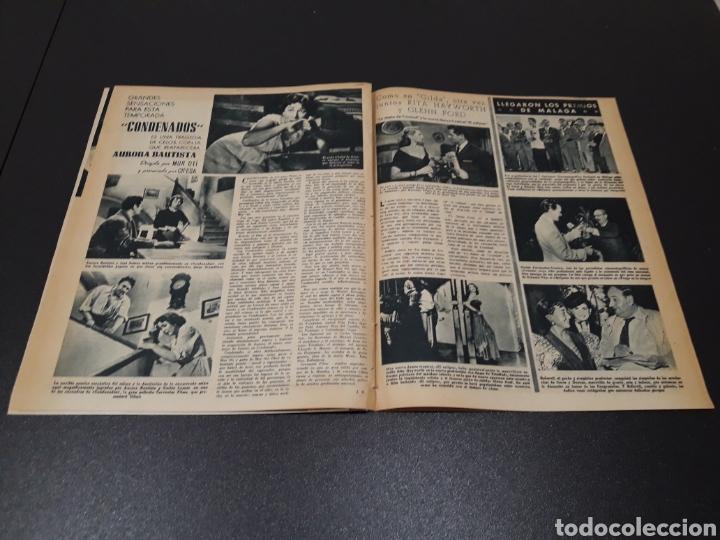 Cine: PALOMA ESTESO, ALAN LADD, AVA GARDNER, RITA HAYWORTH, GLENN FORD. N° 673.06/09/1953. - Foto 13 - 183673051
