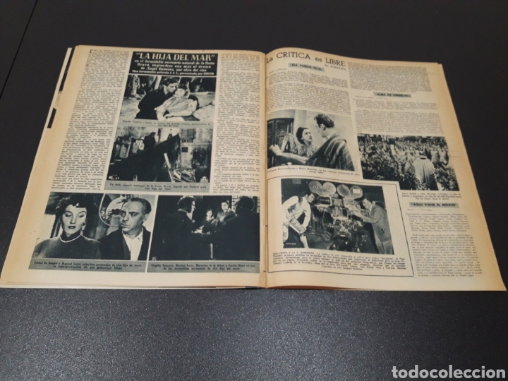 Cine: PALOMA ESTESO, ALAN LADD, AVA GARDNER, RITA HAYWORTH, GLENN FORD. N° 673.06/09/1953. - Foto 14 - 183673051