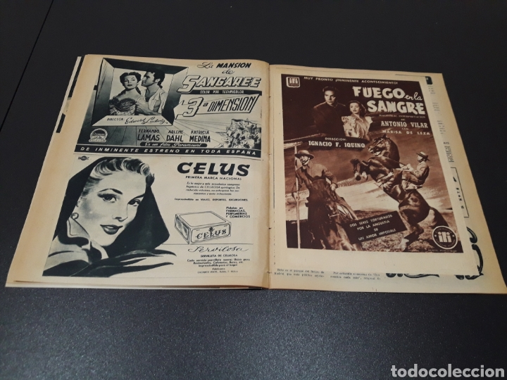 Cine: PALOMA ESTESO, ALAN LADD, AVA GARDNER, RITA HAYWORTH, GLENN FORD. N° 673.06/09/1953. - Foto 15 - 183673051