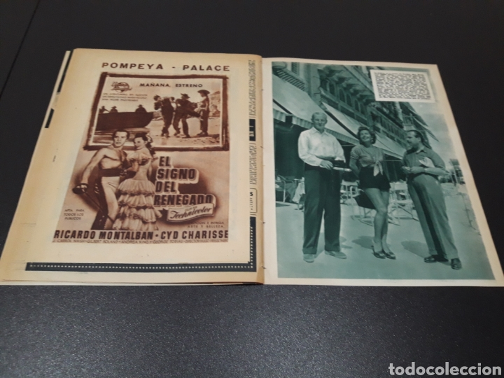 Cine: PALOMA ESTESO, ALAN LADD, AVA GARDNER, RITA HAYWORTH, GLENN FORD. N° 673.06/09/1953. - Foto 16 - 183673051