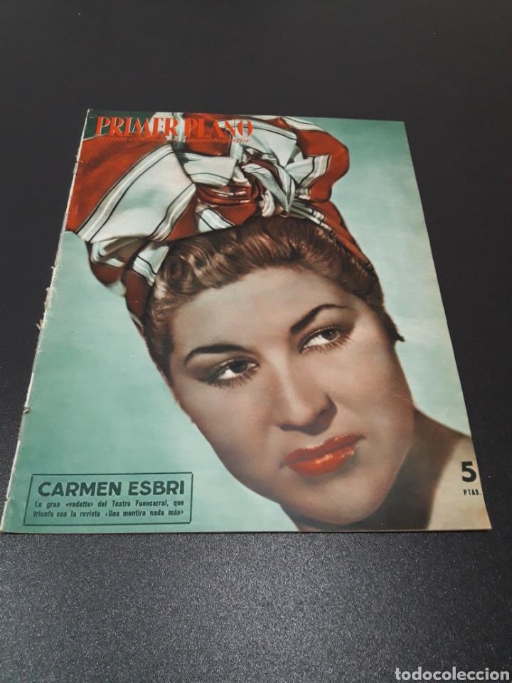 CARMEN ESBRI, EMMA PENELLA, ALI KHAM, GENE TIERNEY, ZSA-ZSA GABOR, PEDRO BISTAGNE. N° 674. 13/09/19 (Cine - Revistas - Primer plano)