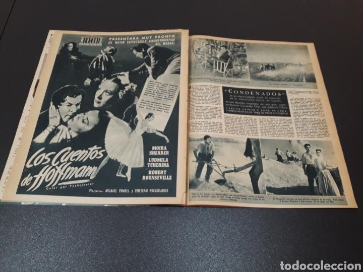 Cine: MARUJITA DIAZ, BOB HOPE, LUIS MARIANO, ANA ESMERALDA. N° 677. 04/10/1953. - Foto 11 - 183676045