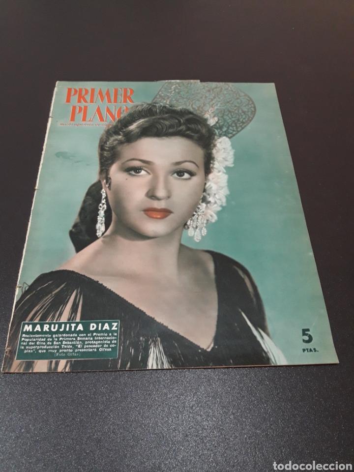 MARUJITA DIAZ, BOB HOPE, LUIS MARIANO, ANA ESMERALDA. N° 677. 04/10/1953. (Cine - Revistas - Primer plano)