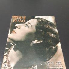 Cine: CONCHITA PIQUER, JORGE MISTRAL, JORGE NEGRETE, PAUL DOUGLAS, PETER DAMON. N° 687. 13/12/1953.. Lote 183694888