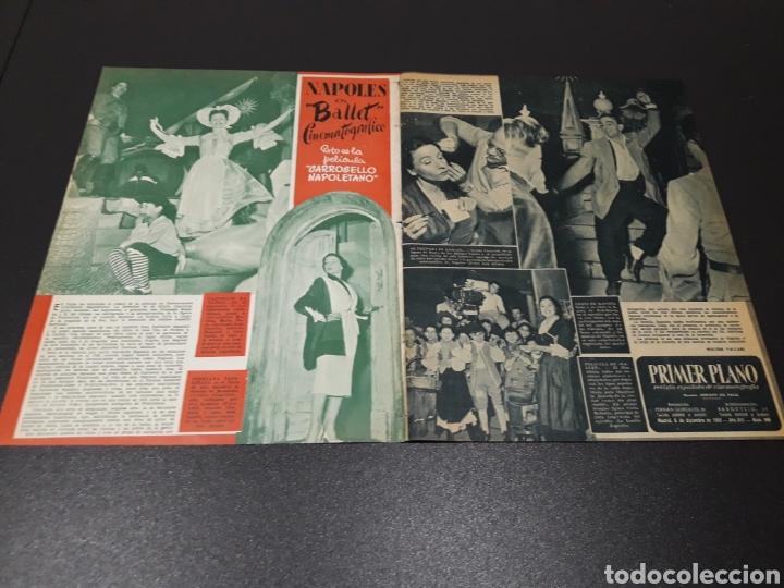 Cine: QUETA CLAVER, HOWARD VERNON, MARIO CABRE, ORSON WELLES, AVA GARDNER. N° 686. 06/12/1953. - Foto 2 - 183696006