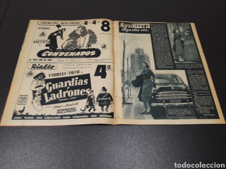 Cine: QUETA CLAVER, HOWARD VERNON, MARIO CABRE, ORSON WELLES, AVA GARDNER. N° 686. 06/12/1953. - Foto 3 - 183696006