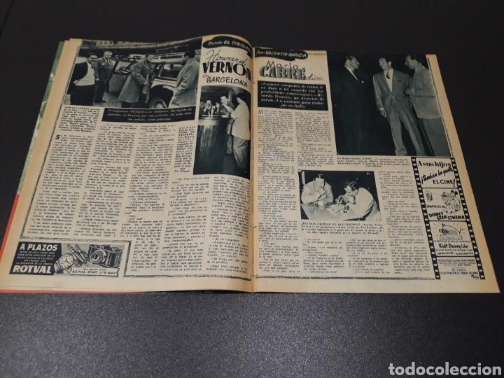 Cine: QUETA CLAVER, HOWARD VERNON, MARIO CABRE, ORSON WELLES, AVA GARDNER. N° 686. 06/12/1953. - Foto 4 - 183696006