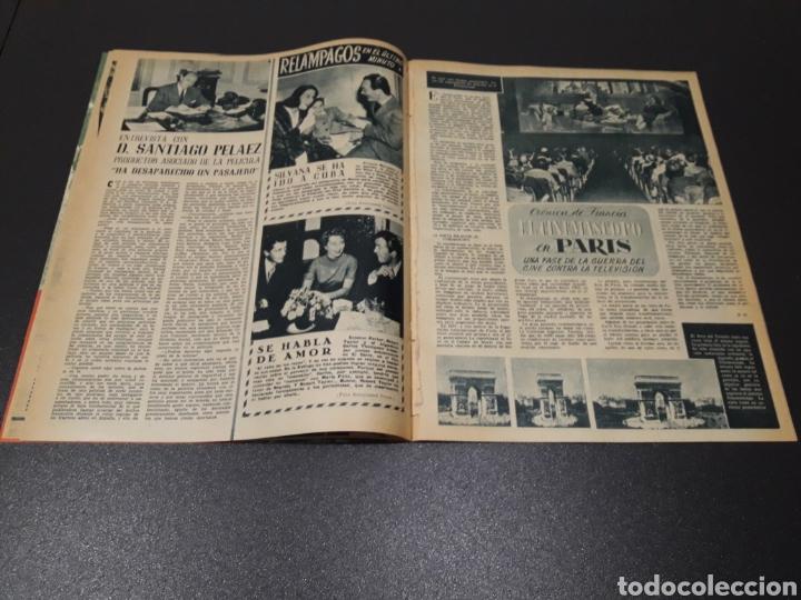 Cine: QUETA CLAVER, HOWARD VERNON, MARIO CABRE, ORSON WELLES, AVA GARDNER. N° 686. 06/12/1953. - Foto 6 - 183696006