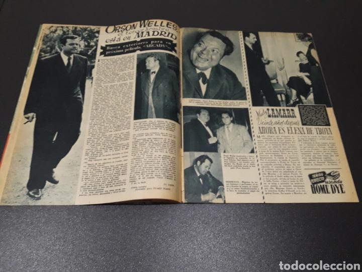Cine: QUETA CLAVER, HOWARD VERNON, MARIO CABRE, ORSON WELLES, AVA GARDNER. N° 686. 06/12/1953. - Foto 7 - 183696006