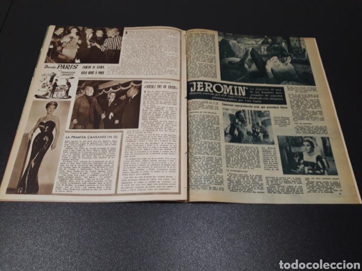 Cine: QUETA CLAVER, HOWARD VERNON, MARIO CABRE, ORSON WELLES, AVA GARDNER. N° 686. 06/12/1953. - Foto 10 - 183696006