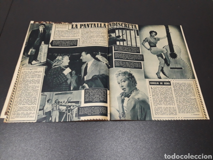 Cine: QUETA CLAVER, HOWARD VERNON, MARIO CABRE, ORSON WELLES, AVA GARDNER. N° 686. 06/12/1953. - Foto 11 - 183696006