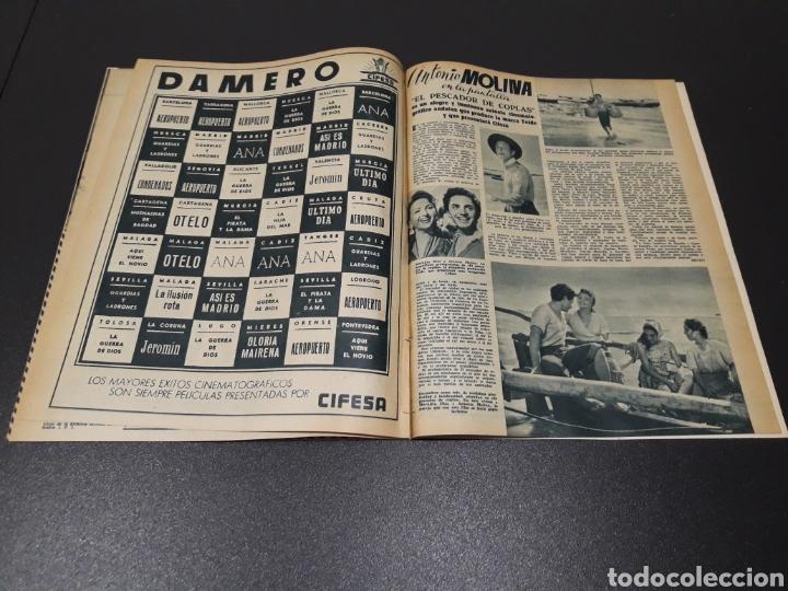 Cine: QUETA CLAVER, HOWARD VERNON, MARIO CABRE, ORSON WELLES, AVA GARDNER. N° 686. 06/12/1953. - Foto 13 - 183696006