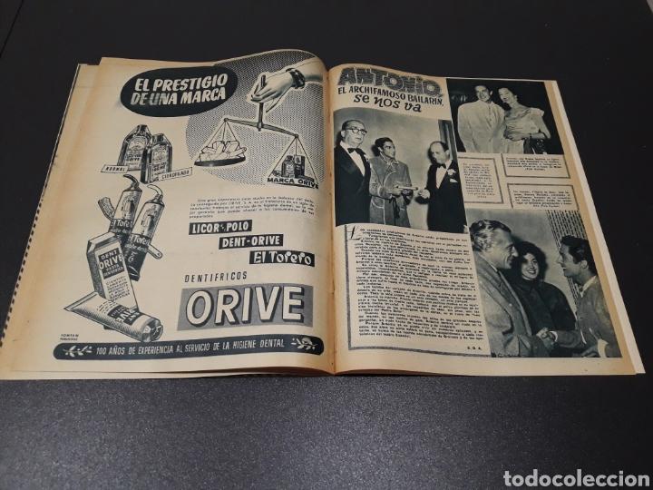 Cine: QUETA CLAVER, HOWARD VERNON, MARIO CABRE, ORSON WELLES, AVA GARDNER. N° 686. 06/12/1953. - Foto 15 - 183696006