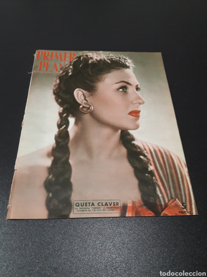 QUETA CLAVER, HOWARD VERNON, MARIO CABRE, ORSON WELLES, AVA GARDNER. N° 686. 06/12/1953. (Cine - Revistas - Primer plano)