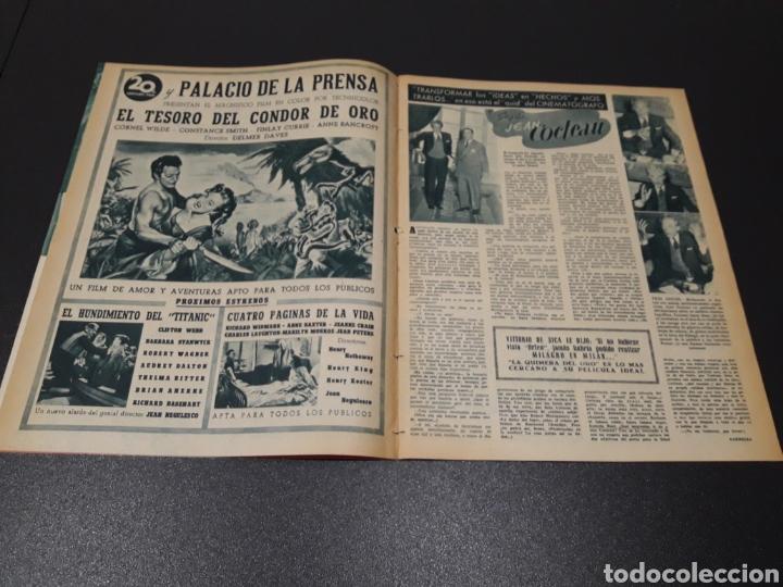 Cine: AURORA BAUTISTA, JEAN COCTEAU, KAY KENDALL, GINO CERVI, ALAN LADD. N° 683. 15/11/1953. - Foto 3 - 183697206